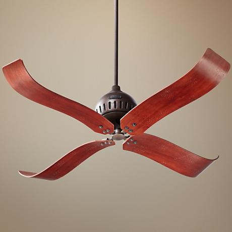"52"" Quorum Jubilee Olied Bronze Ceiling Fan"