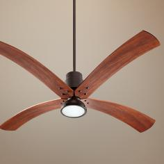 "60""  Quorum Flex Oiled Bronze Ceiling Fan"