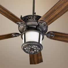 "52"" Quorum Marbella Toasted Sienna Ceiling Fan"