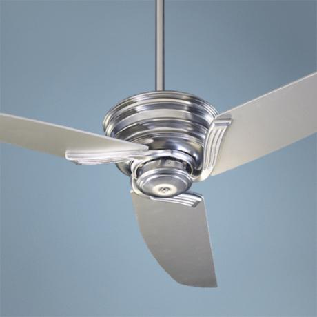 "56"" Quorum Nova Brushed Nickel Ceiling Fan"