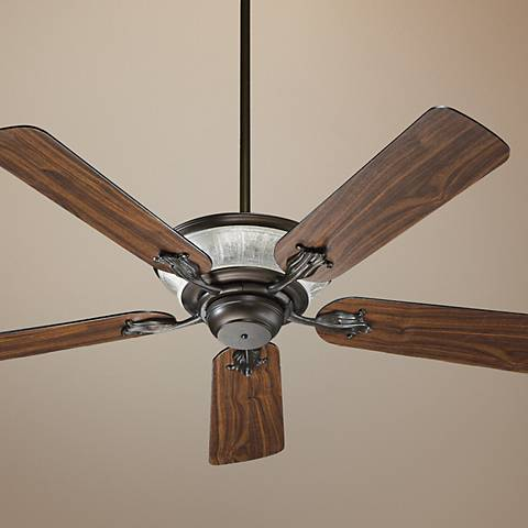 "52"" Quorum Roderick Oiled Bronze Ceiling Fan"