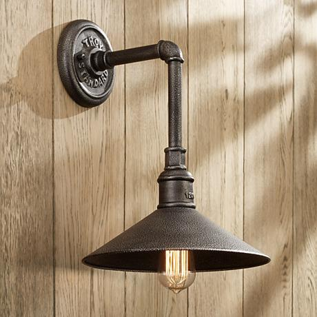 "Troy Lighting Toledo Collection 14 3/4""-H Outdoor Wall Light"