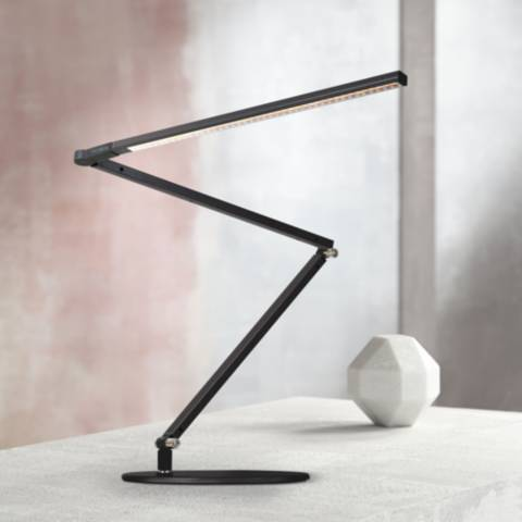 Koncept Gen 3 Z Bar Daylight Led Modern Desk Lamp Black