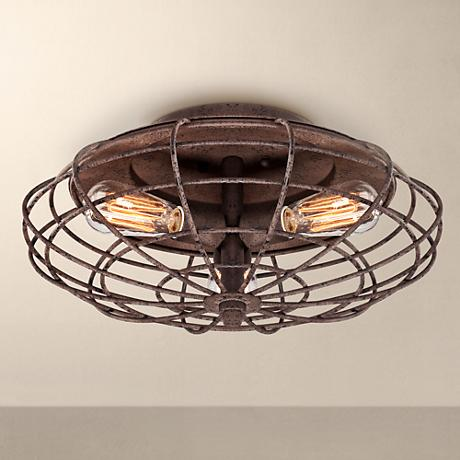 Possini Euro Design 12 3 4 Quot Wide Ceiling Light Fixture