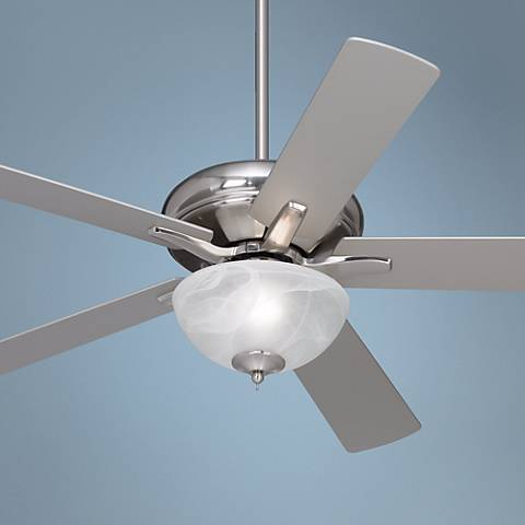 "52"" Casa Paseo ENERGY STAR® Nickel Ceiling Fan"