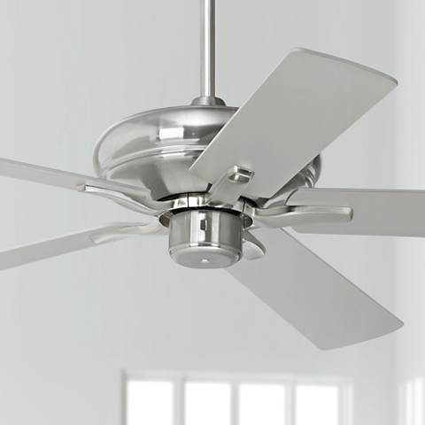 "52"" Casa Vieja Paseo ENERGY STAR® Nickel Ceiling Fan"