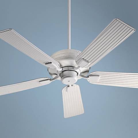 "52"" Quorum Marsden Studio White Patio Ceiling Fan"