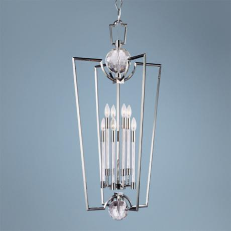 Hudson Valley Waterloo 8-Light Polished Nickel Chandelier