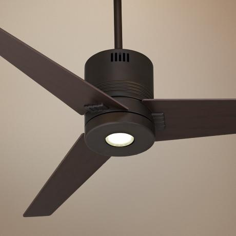 "44"" Casa Metro LED Energy Efficient Bronze Ceiling Fan"