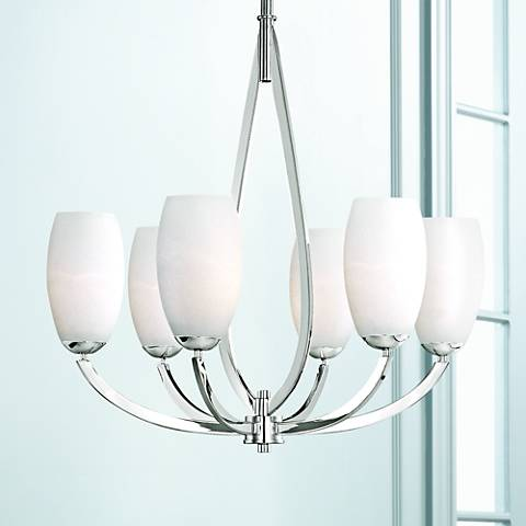 "Maxim Elan 26 1/4"" Wide Polished Chrome Chandelier"