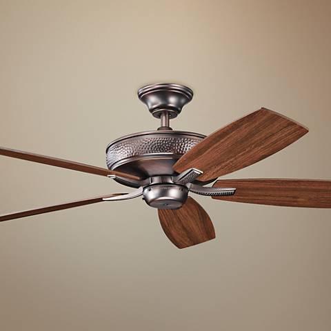 """52"""" Monarch II Energy Star Oil Brushed Bronze Ceiling Fan"""