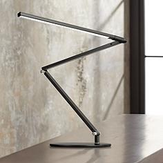 Koncept Gen 3 Z-Bar Warm Light LED Modern Desk Lamp Black