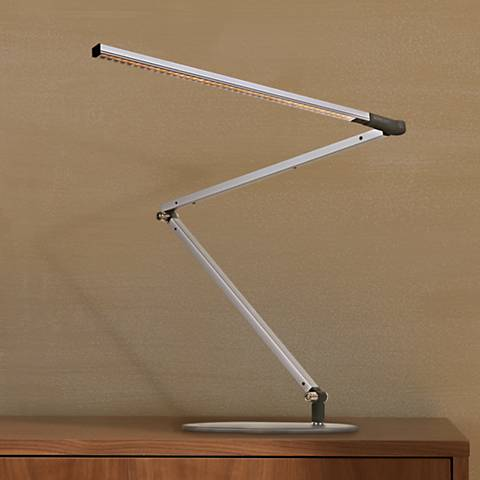Koncept Gen 3 Z-Bar Daylight LED Modern Desk Lamp Silver