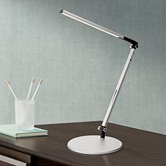 Gen 3 Solo Mini Warm LED Touch Dimmer Desk Lamp in Silver