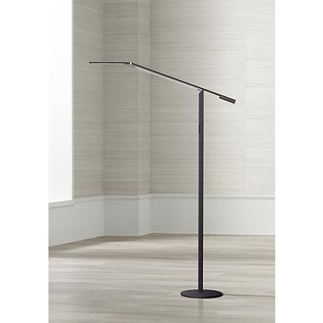 Koncept Gen 3 Equo Warm Light LED Floor Lamp Black