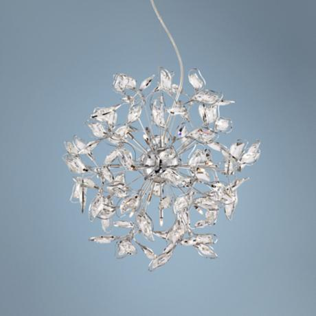 Possini Euro 12-Light Sparkle Chrome Chandelier