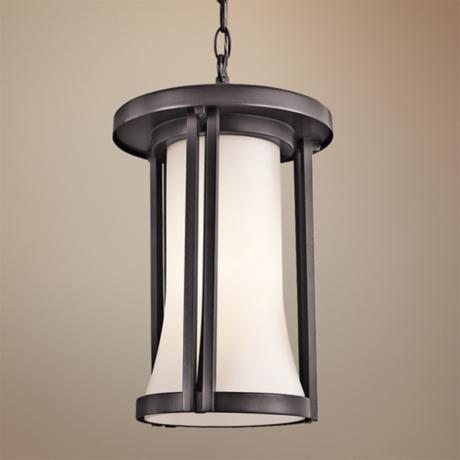"Kichler Tiverton 15 1/4"" High Outdoor Pendant Light"