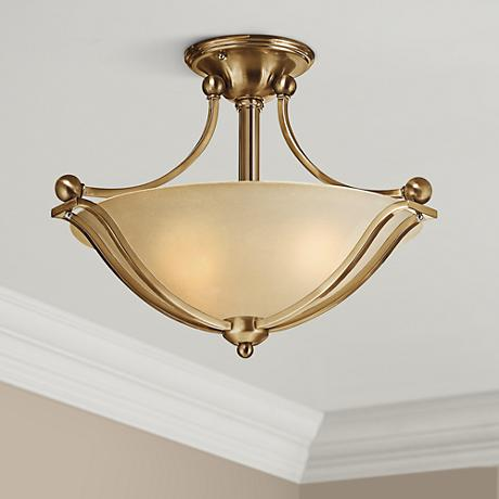 "Hinkley Bolla 19 1/4"" Wide Brushed Bronze Ceiling Light"