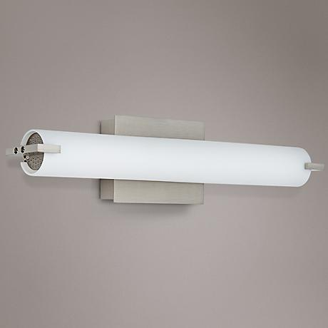 "George Kovacs 20 1/2"" Wide Nickel LED Bath Light"