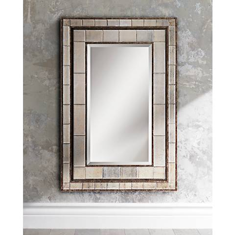 "Uttermost Almont 50"" High Wall or Floor Mirror"