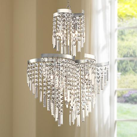 "Izabella 21 1/2"" Wide 12-Light Crystal Chandelier"