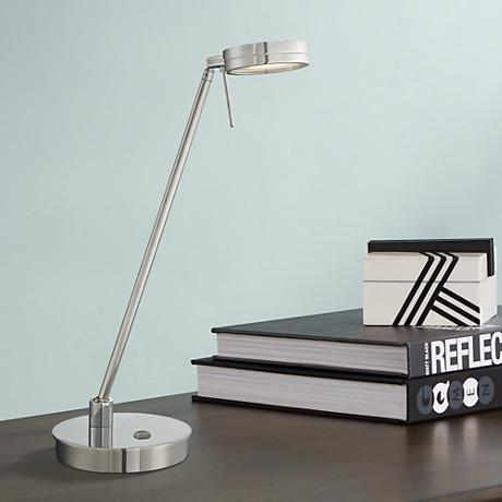 George Kovacs Chrome LED Desk Lamp