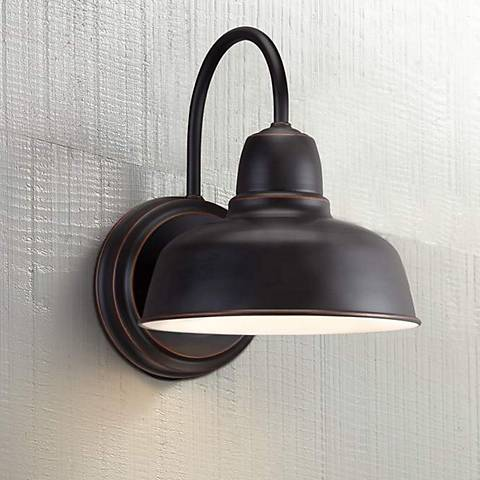 Urban Barn 11 1 4 Quot High Bronze Indoor Outdoor Wall Light