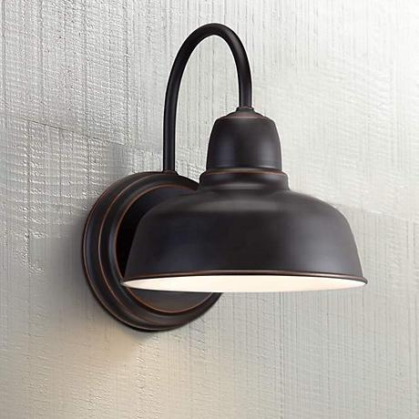"Urban Barn Collection 11 1/4"" High Bronze Outdoor Wall Light"