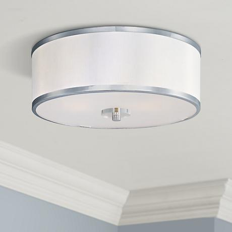 "Maxim Metro Flush Mount 15 3/4"" Wide Ceiling Light"