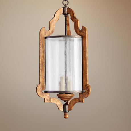 "Quorum Ashford 18 1/2"" Wide Provincial Entry Chandelier"