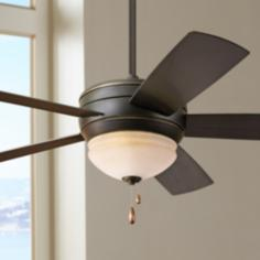 "52"" Emerson Summerhaven Golden Espresso Ceiling Fan"