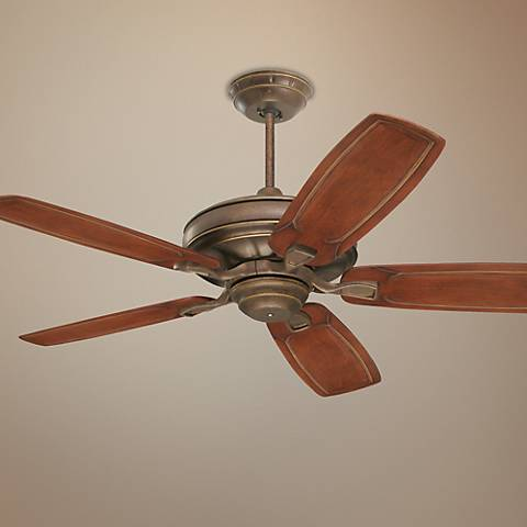 "54"" Emerson Carrera Grande Eco Gilded Bronze Ceiling Fan"