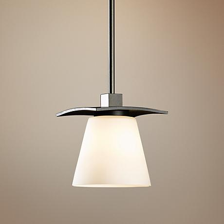 Hubbardton Forge Wren Stone Glass Pendant Light
