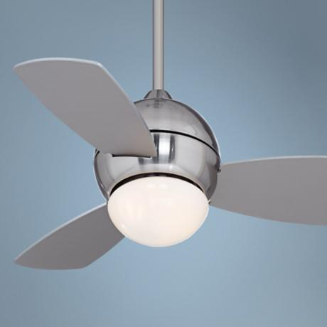 "30"" Casa Vieja Evoke Ceiling Fan with Light"