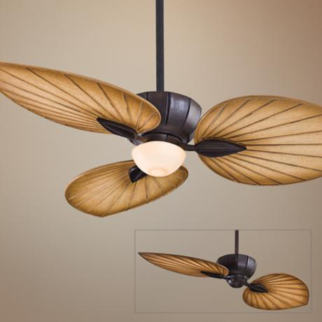 "52"" Minka Aire Terrana Kocoa Ceiling Fan with Light Kit"