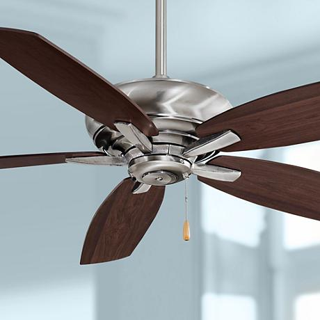 "52"" Minka Aire Kola Pewter Ceiling Fan"
