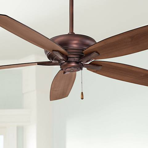 "52"" Minka Aire Kola Dark Brushed Bronze Ceiling Fan"