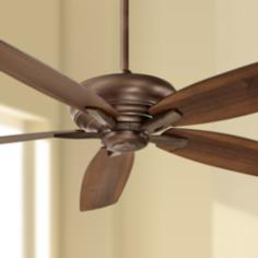 "60"" Minka Aire Kola Dark Brushed Bronze Ceiling Fan"
