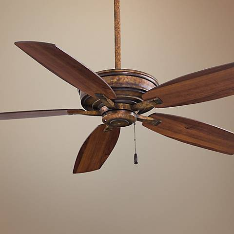 "52"" Minka Aire Kafe Vineyard Patina Ceiling Fan"