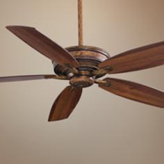 "60"" Minka Aire Kafe-XL Vineyard Patina Ceiling Fan"