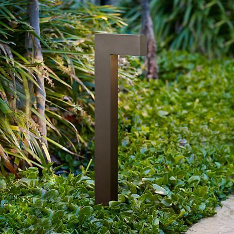 "Hinkley Atlantis-L 22"" High Bronze LED Landscape Light"