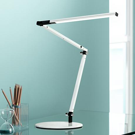 Koncept Gen 3 Z-Bar Mini Warm Light LED Desk Lamp White