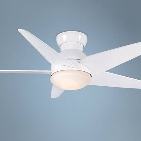 "52"" Casablanca Isotope Snow White Ceiling Fan"