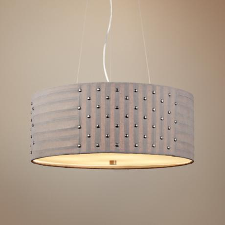 "LBL Elba 4-Light 20"" Wide Suspension Pendant Light"