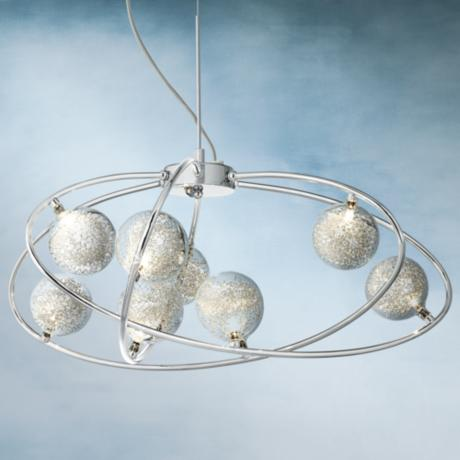 "Revel 30"" Wide Contemporary Pendant Light"