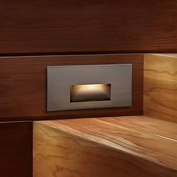 WAC LEDme® Brushed Nickel Step Light