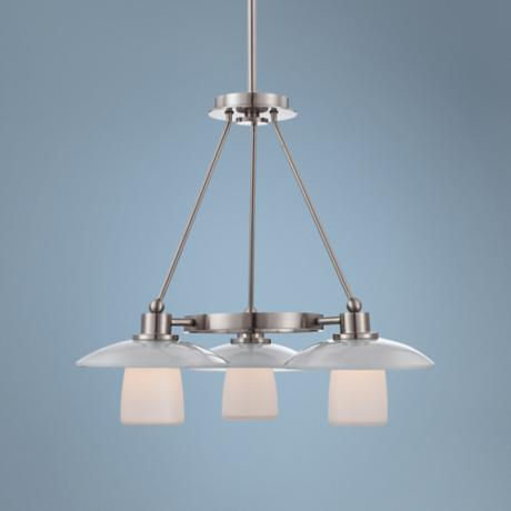 "Quoizel Uptown Tribeca Living 3-Light 23""W Chandelier"
