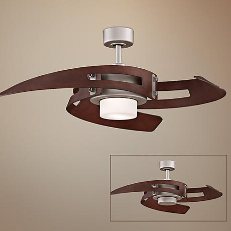 "52"" Fanimation Avaston Satin Nickel Ceiling Fan"