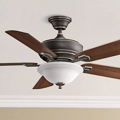 "52"" Fanimation Camhaven Bronze Finish Ceiling Fan"