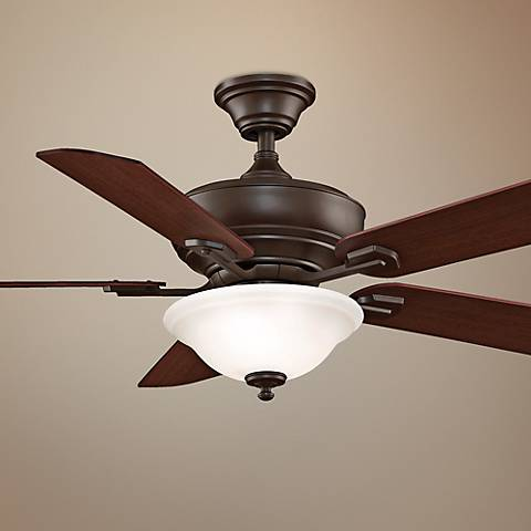 "52"" Fanimation Camhaven Oil-Rubbed Bronze Ceiling Fan"